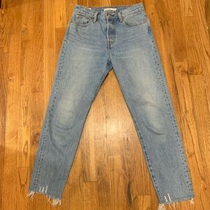"""Levi's """"Wedgie"""" Fit Ankle Jean"""